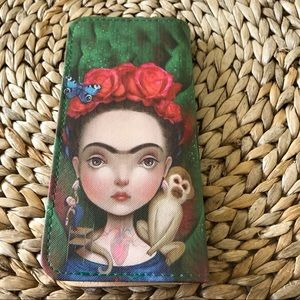 NWT Frida Zipper Kahlo Wallet